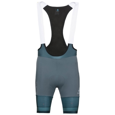 1faaf604292ad2 Spodenki tech. męskie Odlo Tights short suspenders ZEROWEIGHT CERAMICOOL PRO